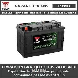 Yuasa L35-115 Batterie Décharge Lente Pour Caravane et Camping Car 12V 115Ah