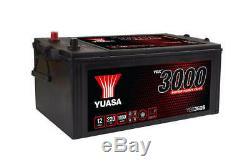 Yuasa YBX3625 625SHD 12v 220ah 1150A Super Résistant Smf Batterie