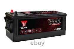 Yuasa YBX3627 627SHD Super Résistant Cargo Batterie 12V 143Ah, Batterie Masters